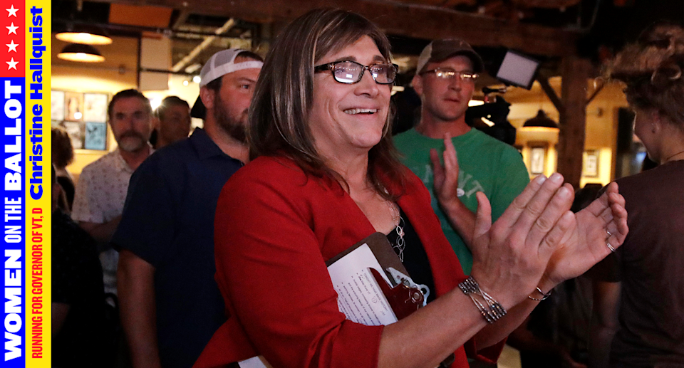 Christine Hallquist is running for governor of Vermont. (Photo: AP Photo)