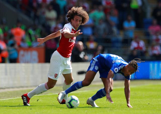 Matteo Guendouzi hasn't been perfect, but he has impressed Arsenal fans