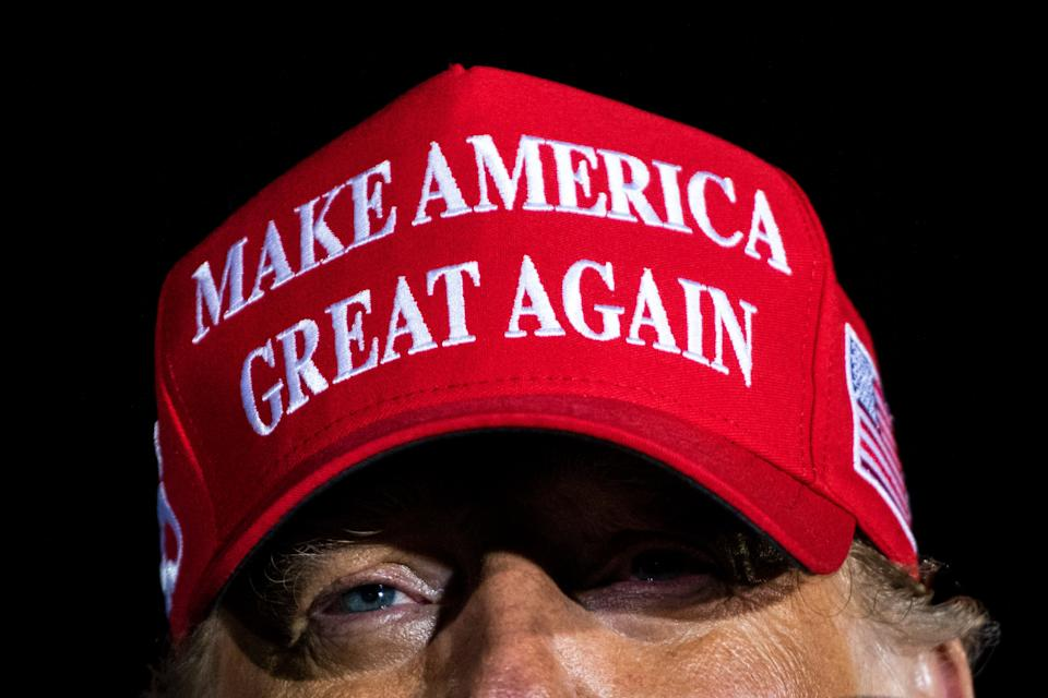 "Donald Trump's ""Make America Great Again"" myth became more real to his supporters than the literal actions of his presidency. (Photo: Jabin Botsford/The Washington Post via Getty Images)"