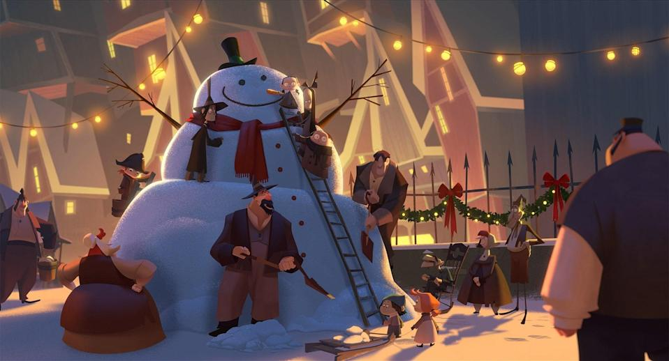 Netflix jumped into the animated movie game in 2019 with this story of a spoiled man who is shipped off to work as a postman in the Arctic Circle. Once there, he discovers a very Santa Claus–like man named Klaus hiding out.