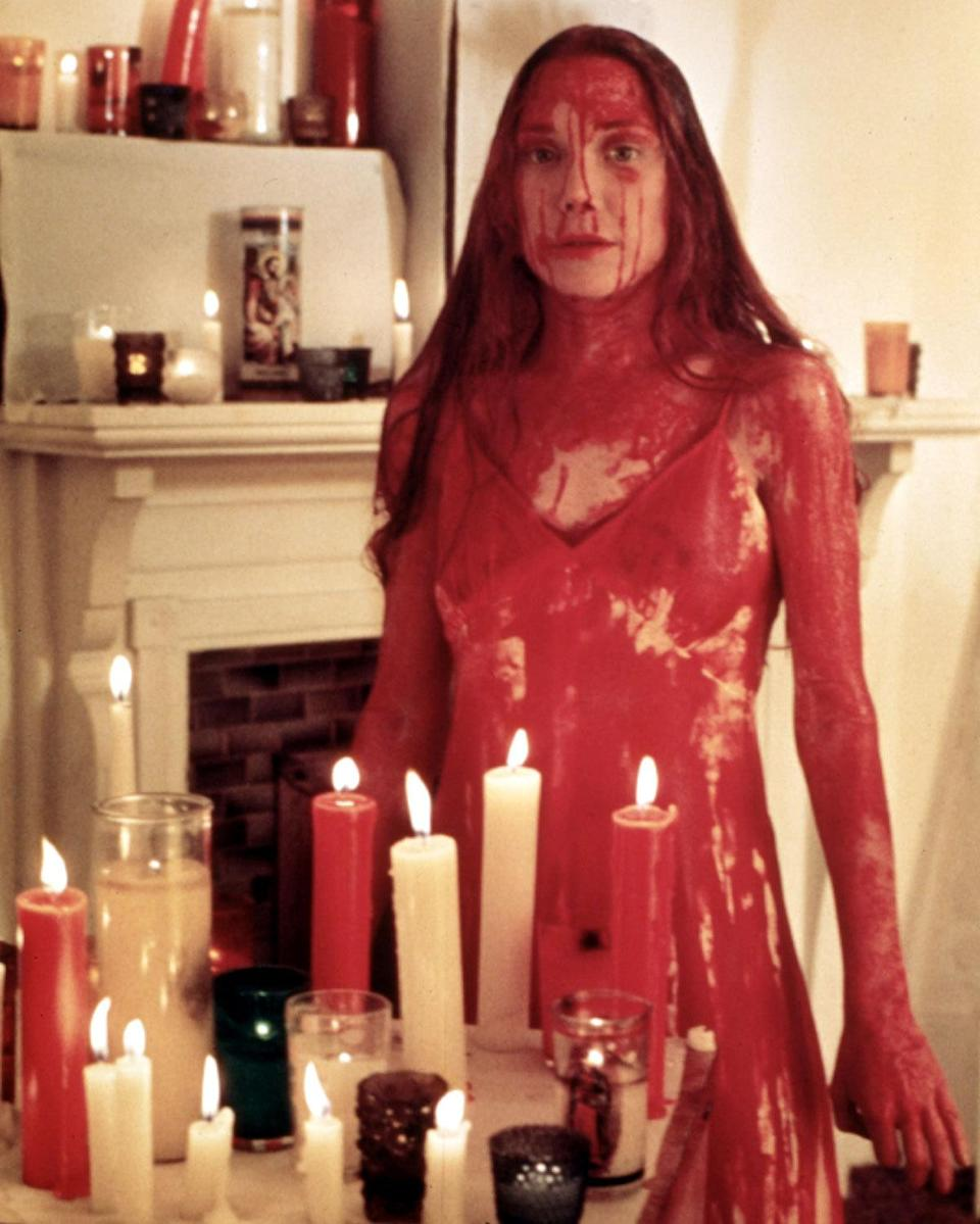 Sissy Spacek as Carrie White in 'Carrie' (1976) Real age at the time: 26 - Character age: 17