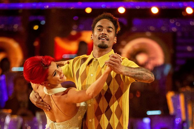 Dianne Buswell and Dev Griffin were kicked off Strictly last week (PA)