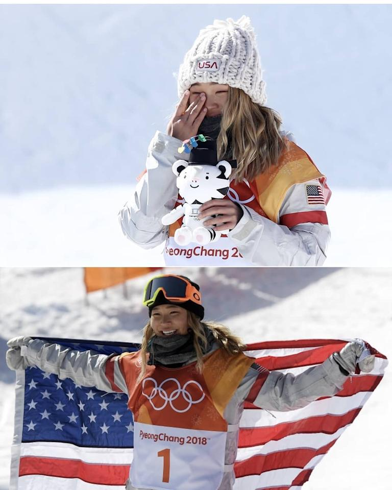 <p>chloekimsnow: Trying to think of a caption is actually impossible but all I can say is thank you to everyone who's been there for me since the beginning. I am so grateful to be surrounded by people I love with all my heart and so thankful for my family and their never ending love and support. Glad I could bring home the Gold!! </p>