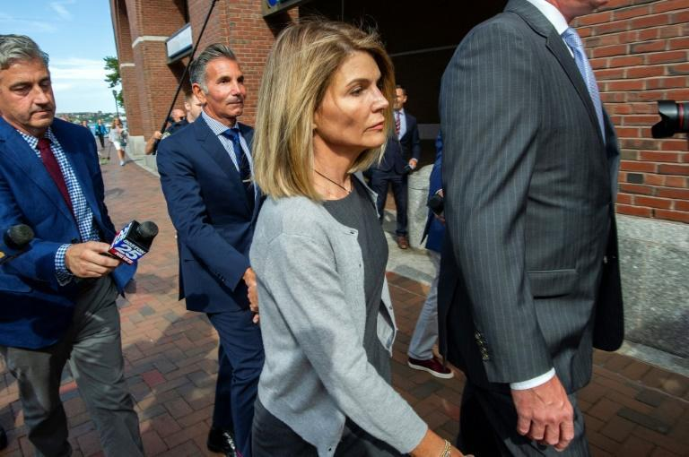 Actress Lori Loughlin and husband Mossimo Giannulli were sentenced by a federal judge in August