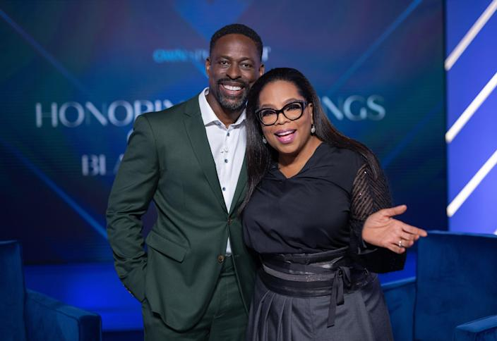 Sterling K. Brown talks to Oprah about how his father's death is reflected in how he raises his own sons in Father's Day special.