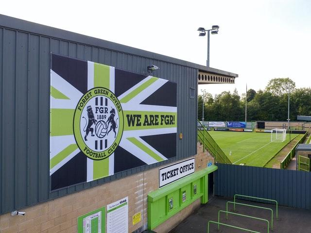 Forest Green Rovers File Photo