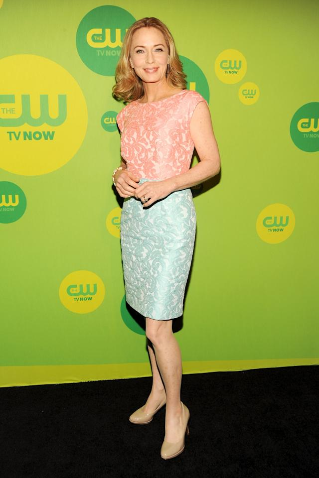 NEW YORK, NY - MAY 16:  Actress Susanna Thompson attends The CW Network's New York 2013 Upfront Presentation at The London Hotel on May 16, 2013 in New York City.  (Photo by Ben Gabbe/Getty Images)