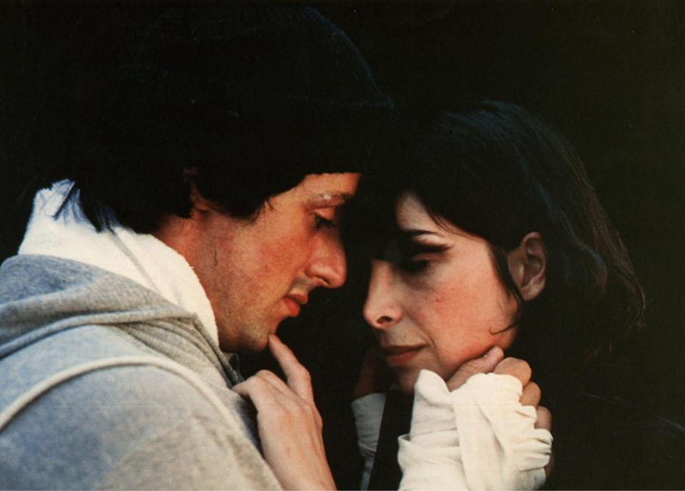 """<p>Throughout the Rocky film series, it's always been Adrian. She stood by Rocky through his career, even when he believed he couldn't win. Despite losing the fight to Apollo Creed, he won Adrian by professing his love to her at the end of the movie. Next, in Rocky II, Rocky proposes to Adrian and they marry. He decides to come out of hiatus and have a rematch with Creed. Adrian went into premature labor and fell into a coma after giving birth. She could not attend the fight, but gave Adrian her blessing. Rocky wins the fight, finally declaring, """"Yo Adrian, I did it!""""</p>"""