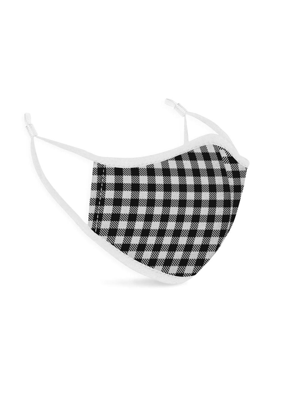 <p>This <span>Vida Protective Mask</span> ($10) comes in a handful of colors and is made with two layers of 100-percent cotton. There is also a metal nose piece that ensures a snug fit on every face.</p>