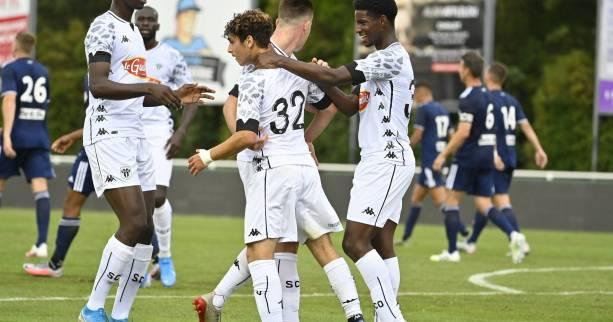 Foot - L1 - Angers - Angers:Mohamed-Ali Cho (16 ans) dans le groupe