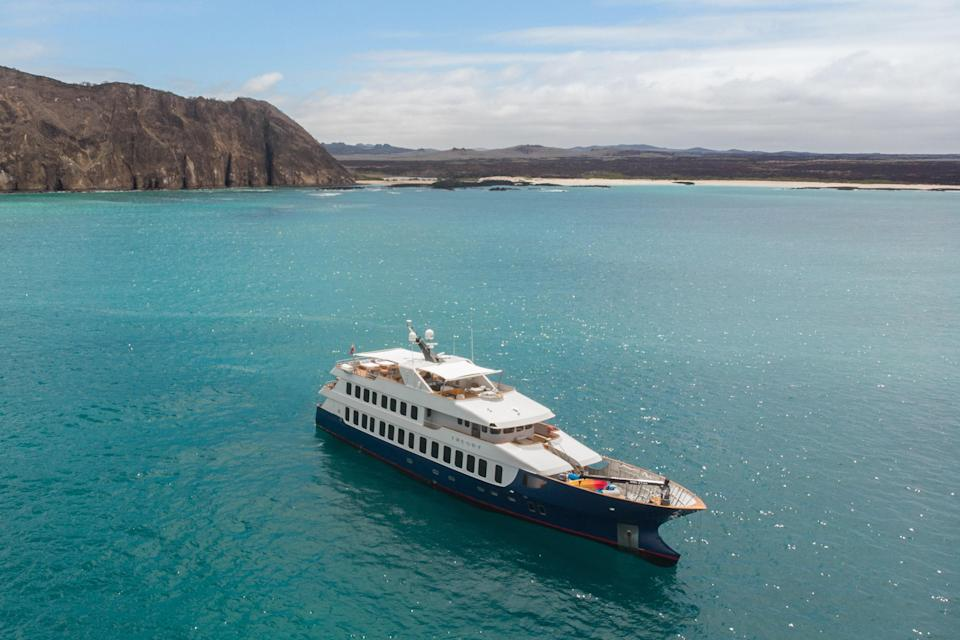 Ecoventura focuses on small, sustainable sailings in the Galapagos.