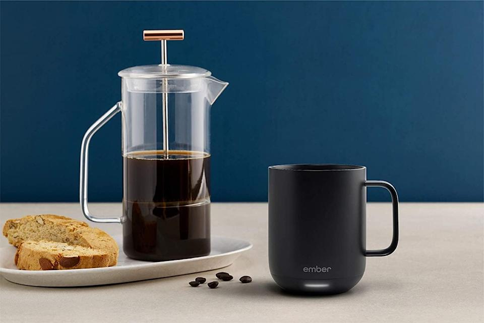 <p>Keep your brew warm all day with this <span>Ember Temperature Control Smart Mug 2</span> ($100).</p>