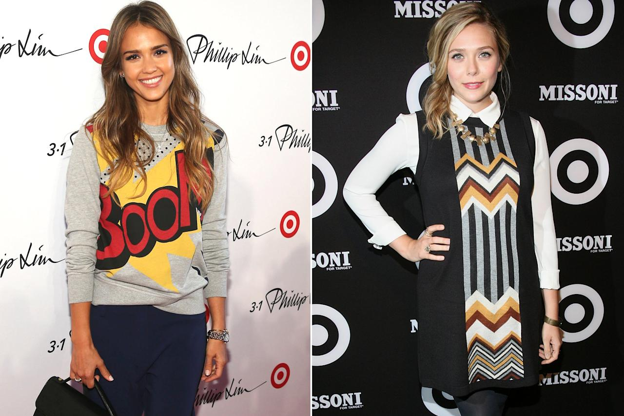 """In 1999, Target revolutionized fast fashion by dropping its first collaboration with home designer Michael Graves. It then expanded into fashion, partnering with brands over the past 20 years that included Isaac Mizrahi, Victoria Beckham and Hunter, and created a frenzy for collaborations among average shoppers and celebrities alike, including (pictured) Elizabeth Olsen, wearing a Missoni dress in 2011, and Jessica Alba, carrying a 3.1 Phillip Lim bag in 2013.  To celebrate 20 years of their headline-making collaborations, the brand is reissuing 300 pieces from 20 of its most successful partnerships. Not sure where to start? We singled out 20 of our favorite picks, ahead. (Get an early start by <a href=""""http://goto.target.com/c/249354/81938/2092?subId1=PEO%2CSHOPPING%3AShopTarget%27sAnniversaryCollectionInStoresNow%21%2Csarahballtimeinc%2CUnc%2CGal%2C7278908%2C201909%2CI&u=https%3A%2F%2Fwww.target.com%2Fc%2Ftarget-20-years-of-design-for-all%2F-%2FN-yk9q4"""" target=""""_blank"""" rel=""""nofollow"""">checking out all the pieces here</a>, and """"favoriting"""" the ones you like so you're ready to add them to your cart ASAP on Sept. 14.)"""