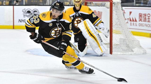 BOSTON (AP) The Boston Bruins are going to be without leading scorer Brad Marchand for the rest of the regular season.