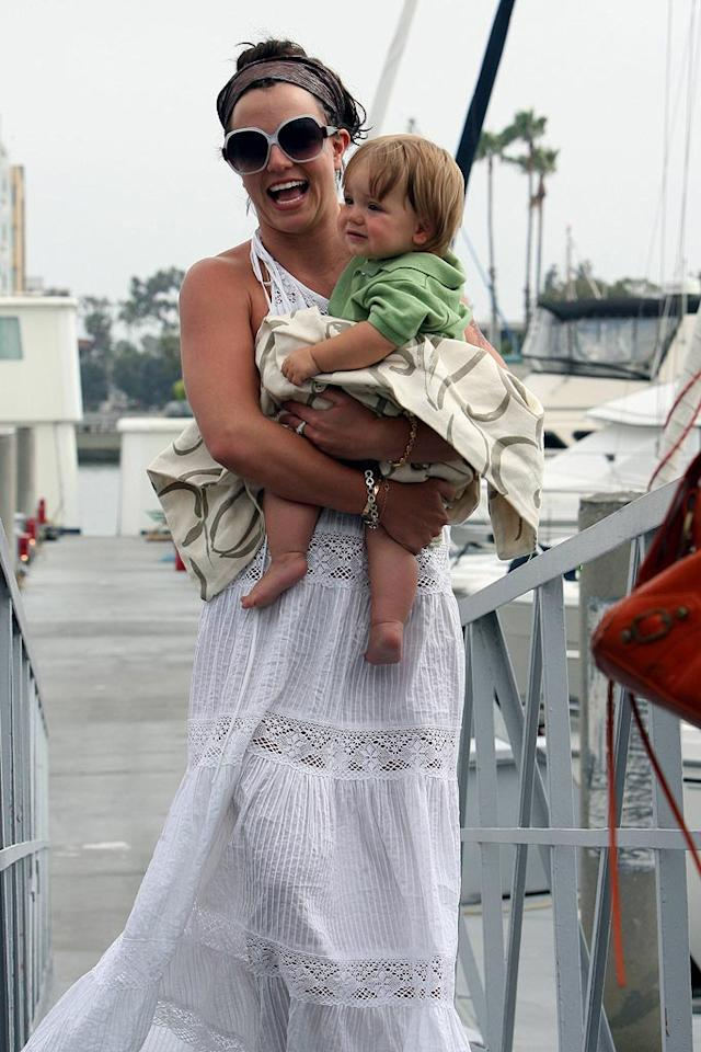 """Yes, she pulls in nearly $800k per month. Yes, """"Gimme More"""" was a guilty pleasure hit. Yes, we live for her hourly trips to Starbucks and 7-Eleven. Britney, however, was the biggest disappointment of the year because of what she must have put her kids through. Every time we see Sean Preston or Jayden James crying in the backseat of their mommy's convertible as she speeds away from the paparazzi, our hardened hearts break. <a href=""""http://www.x17online.com"""" target=""""new"""">X17 Online</a> - July 20, 2007"""