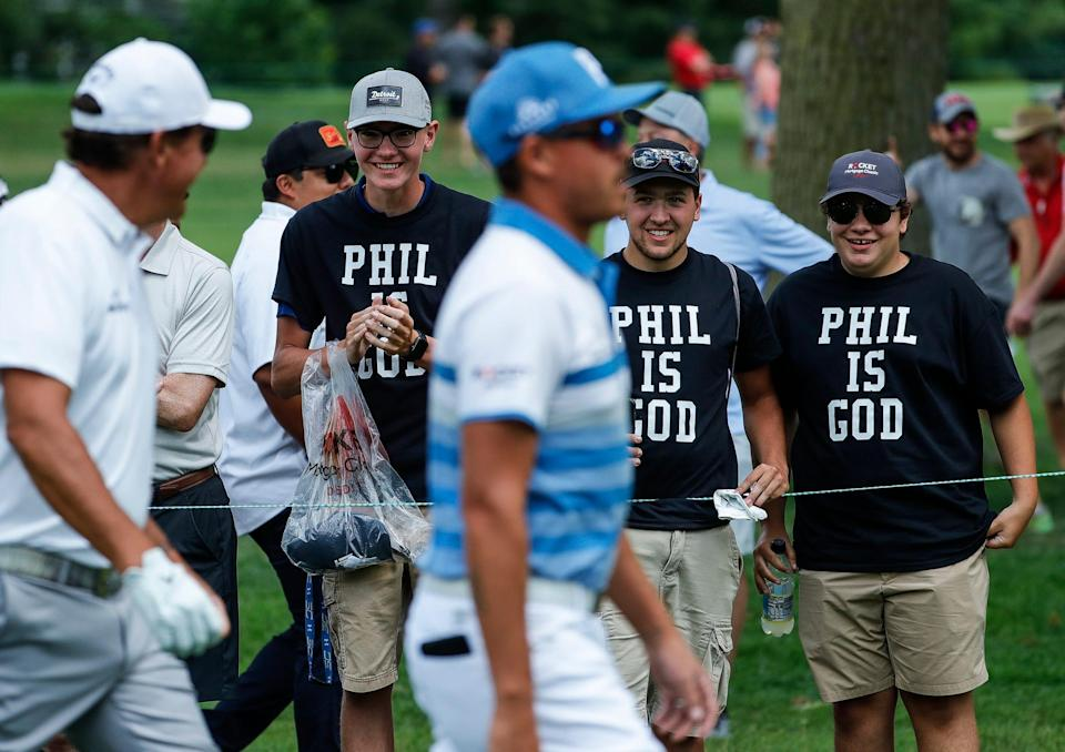 Phil Mickelson, Rocket Mortgage Classic