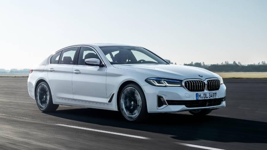 2021 BMW 5 Series facelift exterior front
