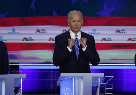 Biden wounded as Democratic tensions boil over at debate