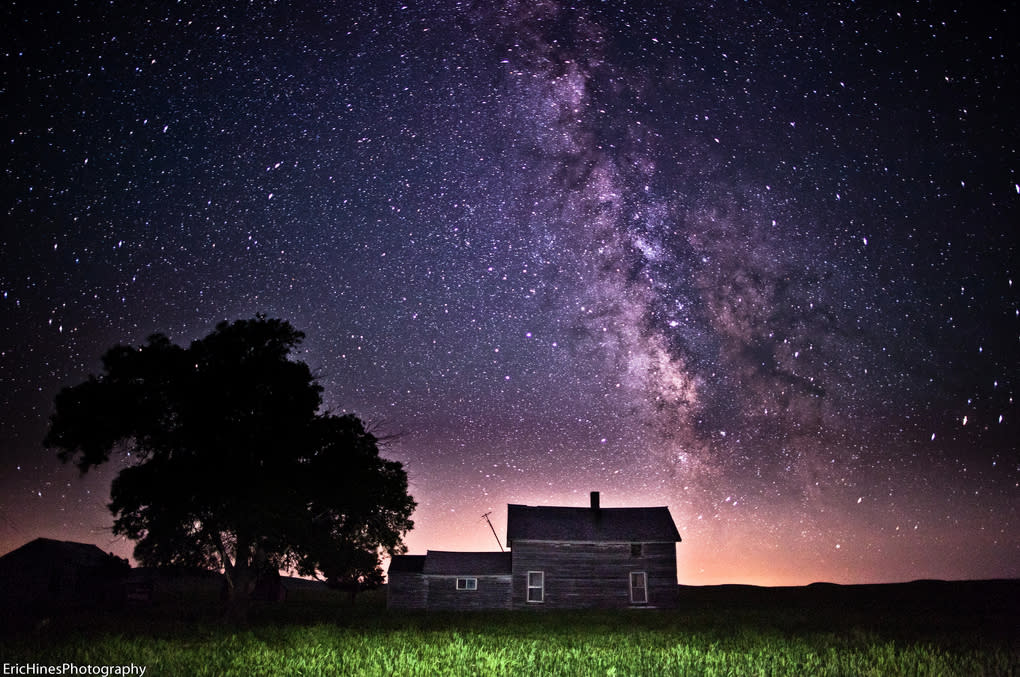 The Milky Way is home to over 200 billion stars and 50 billion planets.  These incredible photos capture what we can see of the immense beauty of our galaxy.  (Photo: Eric Hines Photography/Flickr )