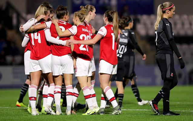 Arsenal women are in the Champions League draw for the first time in five years - Getty Images Europe