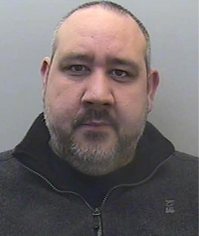 Photo issued by Devon and Cornwall Police of Paul Brown, also known as Paul D Smart, who was jailed for 21 years. (PA)