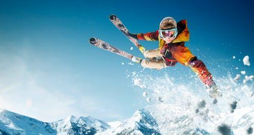 """<span class=""""attribution""""><a class=""""link rapid-noclick-resp"""" href=""""https://www.shutterstock.com/image-photo/skiing-jumping-skier-extreme-winter-sports-1187224186"""" rel=""""nofollow noopener"""" target=""""_blank"""" data-ylk=""""slk:Shutterstock/Artur Didyk"""">Shutterstock/Artur Didyk</a></span>"""