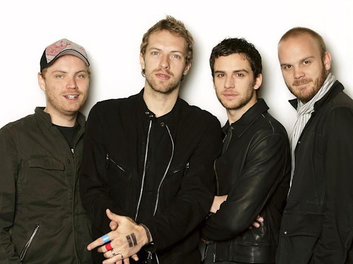 coldplay 2005