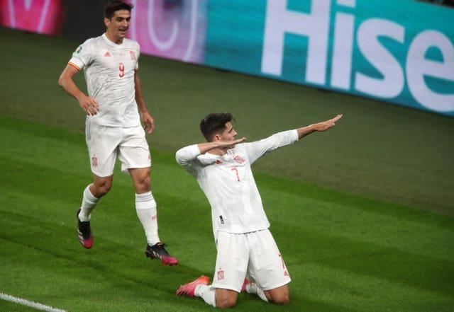 Morata equalised with 10 minutes of normal time remaining