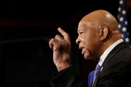 House Oversight and Government Reform Committee ranking member Rep. Elijah Cummings speaks about former national security adviser Michael Flynn