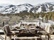 "<p>Nestled at the foot of the majestic Tetons, Jackson Hole is a lovely place to find adventure, beauty, and bliss this Valentine's Day. It's truly a choose-your-own-adventure here with ultra-rustic digs that allow you to unplug, along with some of the country's most luxe resorts. </p><p><a href=""https://calderahouse.com/"" rel=""nofollow noopener"" target=""_blank"" data-ylk=""slk:Caldera House"" class=""link rapid-noclick-resp"">Caldera House</a> is an ultra-hip place to spend the weekend, with residential-style suites offering prime seclusion. Private in-suite home theaters, fire pits, and personalized kitchens are just a few of the fun accommodations to ensure you'll have the getaway you've been dreaming of. Sleigh ridges through National Elk Refuge, skiing, dog sledding, stargazing, and wine tastings are just a handful of the amenity offerings that makes Caldera House a must-stay in Jackson Hole.</p>"