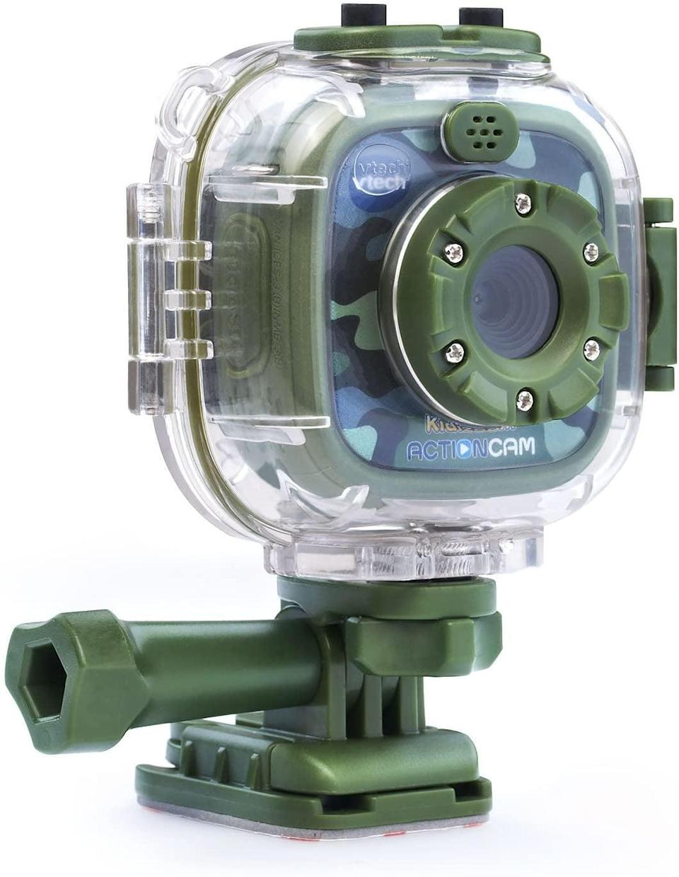 <p><span>VTech Kidizoom Action Cam</span> ($45, originally $50) comes with a camera that can attach to a scooter, bike, or helmet. It's basically a kid-friendly Go-Pro!</p>