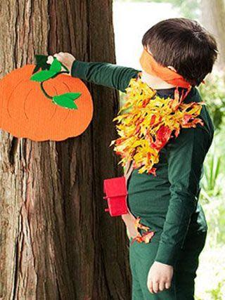 """<p>To keep the kids busy during your big Halloween costume party, get them to play this rendition of """"Pin the Tail On the Donkey.""""</p><p><em><strong><a href=""""https://www.womansday.com/home/crafts-projects/how-to/a5145/halloween-game-pin-the-stem-on-the-pumpkin-110848/"""" rel=""""nofollow noopener"""" target=""""_blank"""" data-ylk=""""slk:Get the Pin the Stem On the Pumpkin tutorial."""" class=""""link rapid-noclick-resp"""">Get the Pin the Stem On the Pumpkin tutorial.</a></strong></em></p>"""