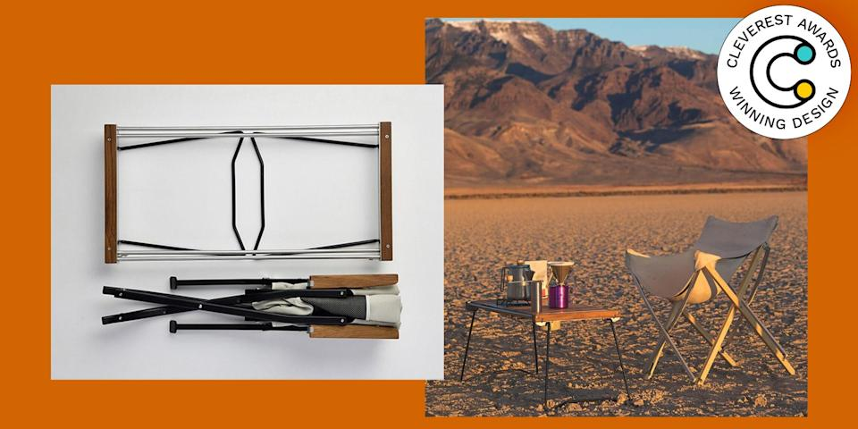 IGT Slim by Snow Peak A dining table one minute, a stove and prep surface the next, this collapsible teak surface is a must for camping trips or even just a day at the beach. $485, snowpeak.com