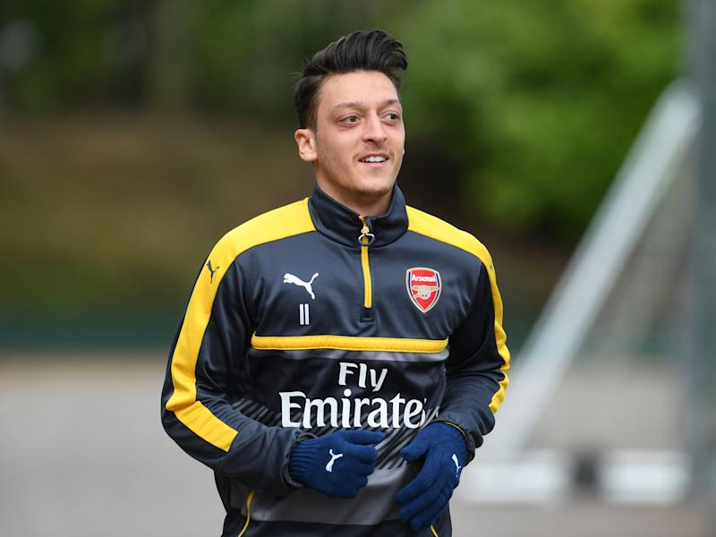 Mesut Ozil feels that is regularly made a scapegoat for Arsenal's poor displays: Getty