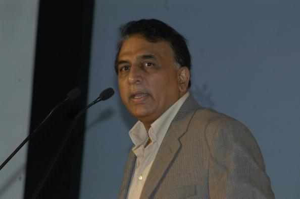 INDIA - AUGUST 29: Sunil Gavaskar, Living legend and ESPN STAR Sports Commentator at Press conference of ESPN Star Sports in New Delhi, India (Photo by Yasbant Negi/The India Today Group/Getty Images)