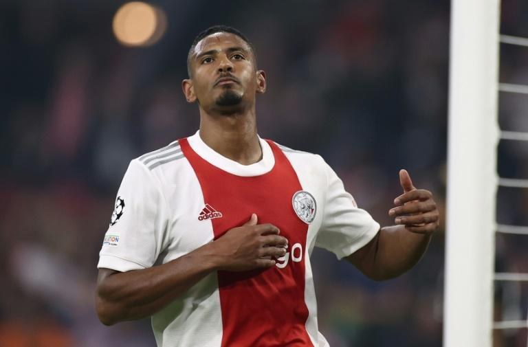 Sebastien Haller scored just 14 goals in 54 appearances across all competitions in two seasons for West Ham (AFP/KENZO TRIBOUILLARD)