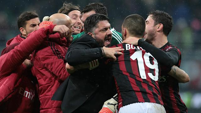AC Milan right-back Andrea Conti lauded Gennaro Gattuso's impact after replacing Vincenzo Montella in November.