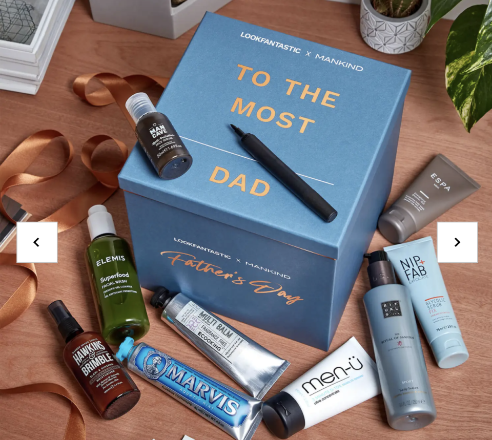 PHOTO: LookFantastic. Father's Day Limited Edition Box 2021, Beauty Box
