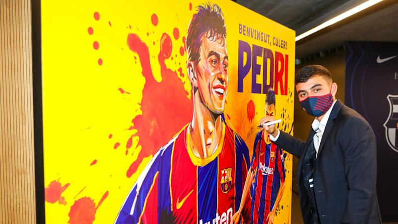 'I want to learn from the best' - Teenage talent Pedri hopes Messi remains at Barcelona