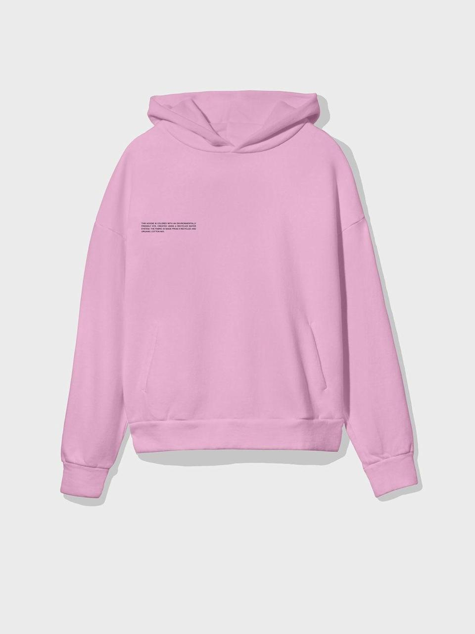 """<br><br><strong>Pangaia</strong> Heavyweight Recycled Cotton Hoodie, $, available at <a href=""""https://thepangaia.com/products/heavyweight-recycled-cotton-hoodie-rose-pink"""" rel=""""nofollow noopener"""" target=""""_blank"""" data-ylk=""""slk:Pangaia"""" class=""""link rapid-noclick-resp"""">Pangaia</a>"""