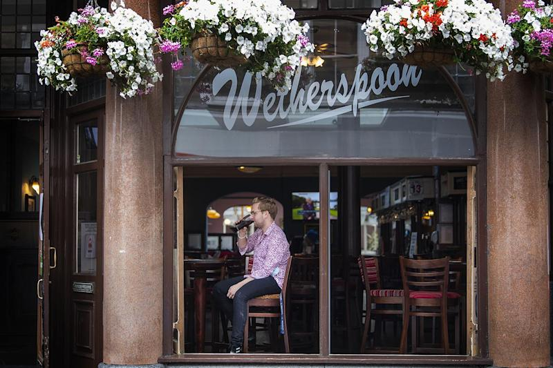 Neverspoons: A new app shows independent pubs near Wetherspoons locations