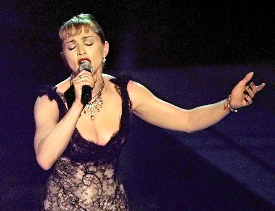 <p>Madonna's controversial albums made her one of the most famous people in the music world, but her performance in 1997's <em>Evita</em> earned her a Golden Globe for Best Actress in a Musical or Comedy Motion Picture, and the respect of the thespians everywhere.</p>