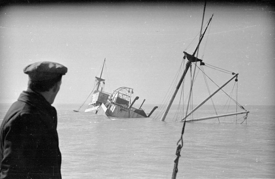 A 1948 victim of the Goodwin Sands