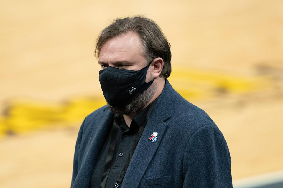 Philadelphia 76ers president of basketball operations Daryl Morey was fined again by the NBA.