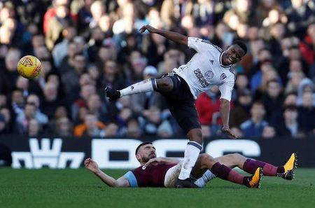 FILE PHOTO: Soccer Football - Championship - Fulham vs Aston Villa - Craven Cottage, London, Britain - February 17, 2018 Aston Villa's Robert Snodgrass in action with Fulham's Floyd Ayite Action Images/Paul Childs