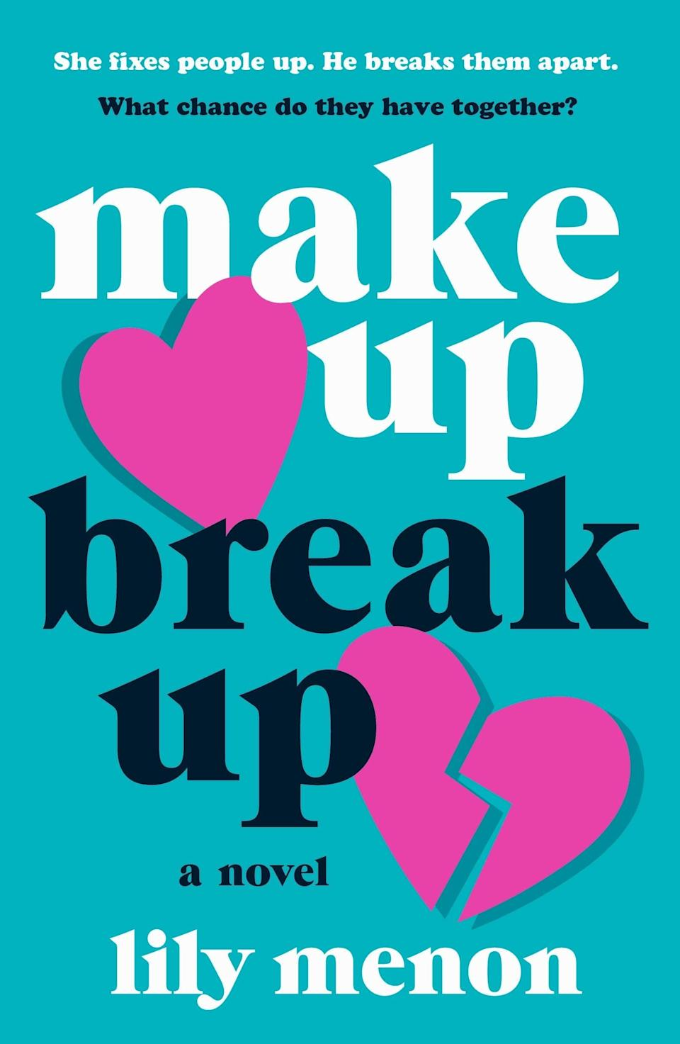 <p>Lily Menon, who has already made a splash in the world of YA romance where she writes as Sandhya Menon, is releasing her first adult rom-com this month, and romance fans should be excited. <span><strong>Make Up Break Up</strong></span> follows Annika Dev, who created an app to help keep people together, and Hudson Craft, who made an app to facilitate quick break ups. In theory, these two have nothing in common, but sparks fly when they meet. </p> <p><em>Out Feb. 2</em></p>