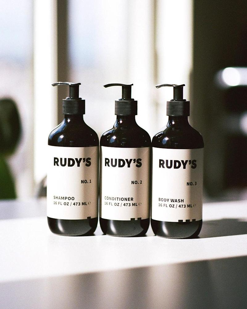Rudy's Barbershop Provides Shower Products to LGBTQ Community