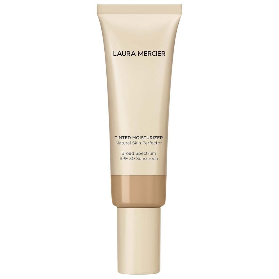 """<p>The newly formulated <a href=""""https://www.popsugar.com/buy/Laura-Mercier-Tinted-Moisturizer-Natural-Skin-Perfector-SPF-30-481780?p_name=Laura%20Mercier%20Tinted%20Moisturizer%20Natural%20Skin%20Perfector%20SPF%2030&retailer=sephora.com&pid=481780&price=47&evar1=bella%3Auk&evar9=46515699&evar98=https%3A%2F%2Fwww.popsugar.com%2Fbeauty%2Fphoto-gallery%2F46515699%2Fimage%2F46516054%2FLaura-Mercier-Tinted-Moisturizer-Natural-Skin-Perfector-SPF-30&list1=beauty%20products&prop13=api&pdata=1"""" rel=""""nofollow"""" data-shoppable-link=""""1"""" target=""""_blank"""" class=""""ga-track"""" data-ga-category=""""Related"""" data-ga-label=""""https://www.sephora.com/product/tinted-moisturizer-broad-spectrum-P109936?skuId=2250751&amp;icid2=justarrived_us_skugrid_ufe:p109936:product"""" data-ga-action=""""In-Line Links"""">Laura Mercier Tinted Moisturizer Natural Skin Perfector SPF 30</a> ($47) is just the thing to quickly throw on before running to class. It will hydrate, conceal, and protect your skin all in one step.</p>"""