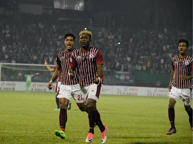 It arguably turned out to be the best day for Mohun Bagan in this season's I-League with many boxes ticked in Siliguri...
