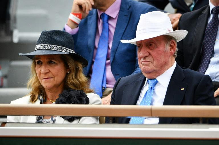 The former king has been spotted in public at tennis matches, bullfights and a sailing competition in Finland